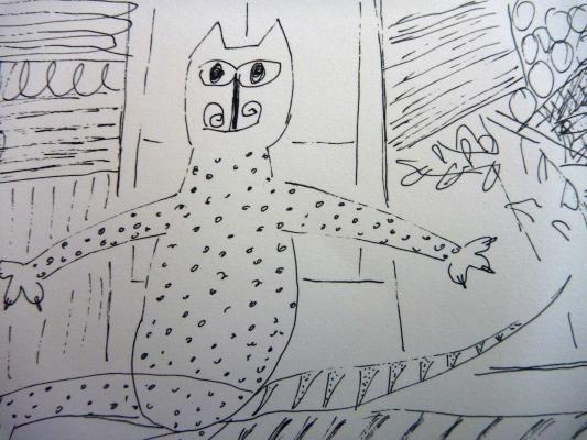 tekening-kat